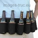 6 pack de biere portable beer soda ceinture etui